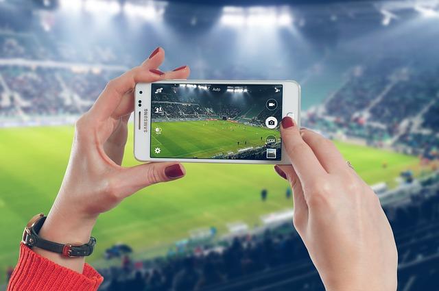 natáčení fotbalu