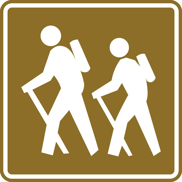 značka hikingu