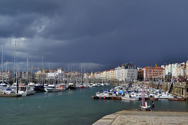 přístav v Santander