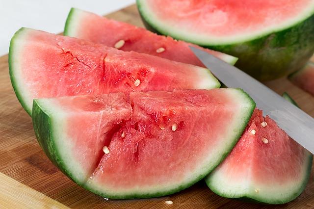 krájený meloun