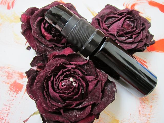 kosmetika z růže