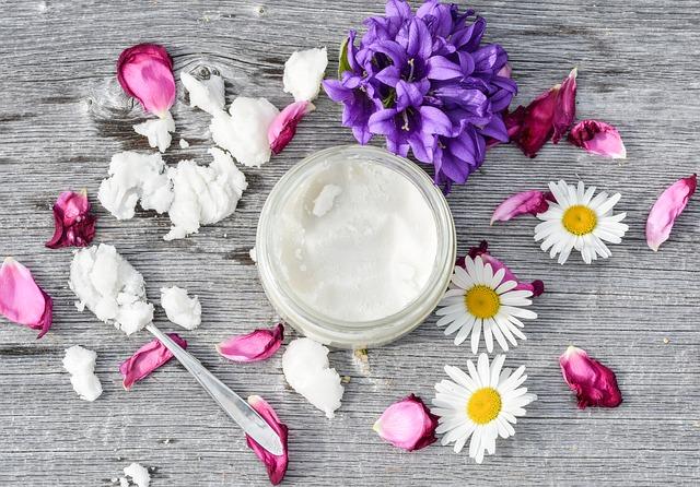 květiny a kosmetika