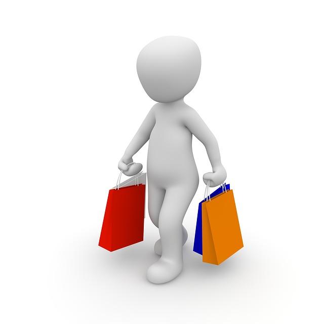panáček po nákupech