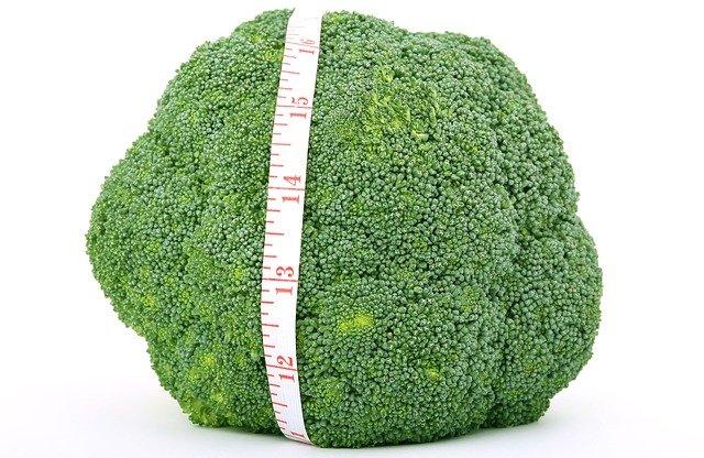 metr na brokolici