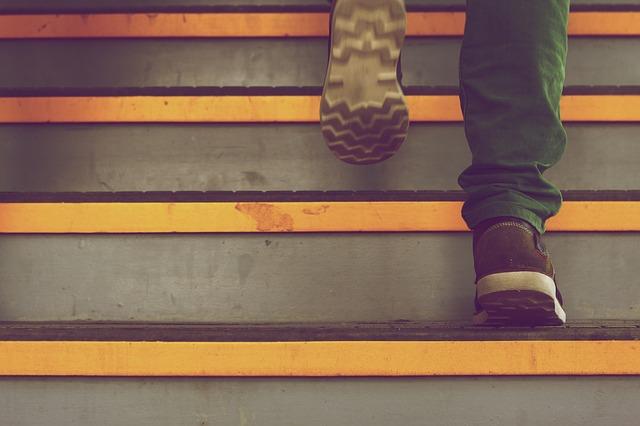 kroky nahoru