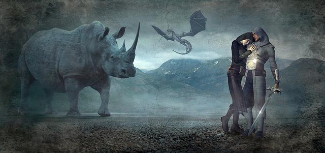 Speciální grafika s fantasy prvky