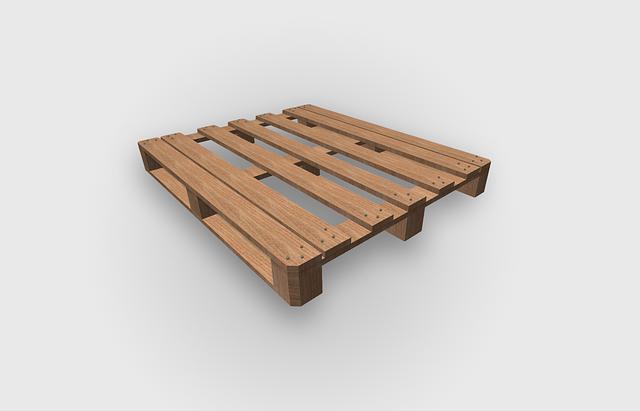 dřevěná paleta