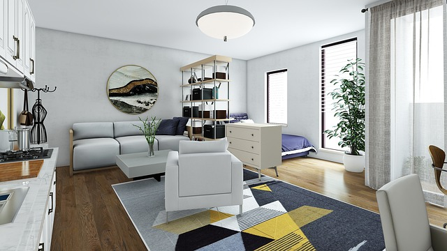 koberec v interiéru